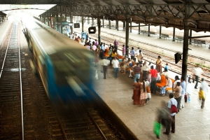 Train Station in Colombo