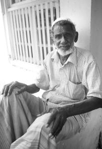 A Muslim man in Gaul Fort, Sri Lanka