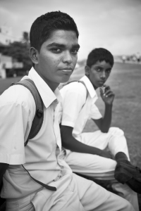 School kids I spoke with in Gaul Fort
