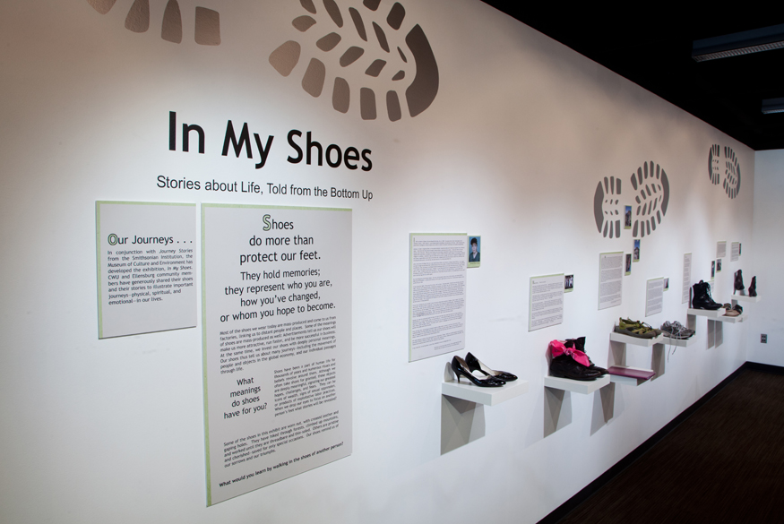 My Photographs Are In A Museum Exhibit With My Shoes Matthew Worden Photography